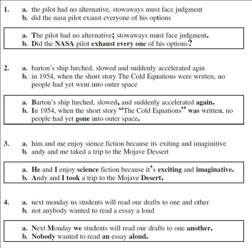 the cold equations essay Start studying lesson 4 speedback assignment byu independent study part 2 semester 2 (the cold equations)) (from the essay darkness at.